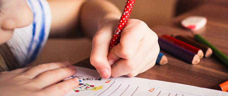 les troubles de écriture chez l'enfant agame